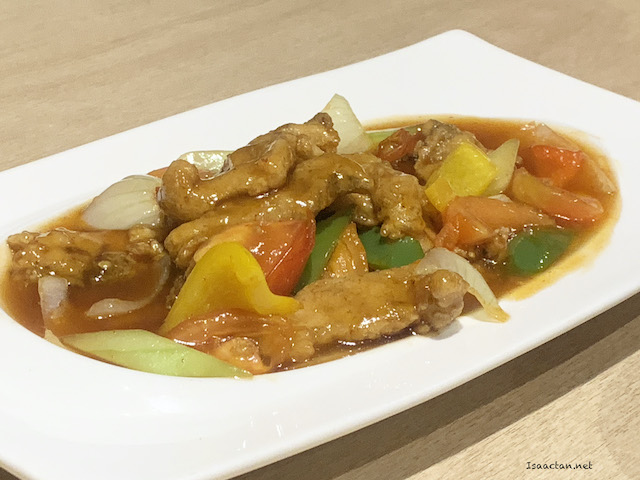 Sweet and Sour Sliced Grouper infused with Lychee Black Tea