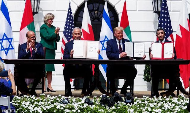 """دون ذكر دولة فلسطينية ... تفاصيل اتفاق """"أبراهام""""!!"""