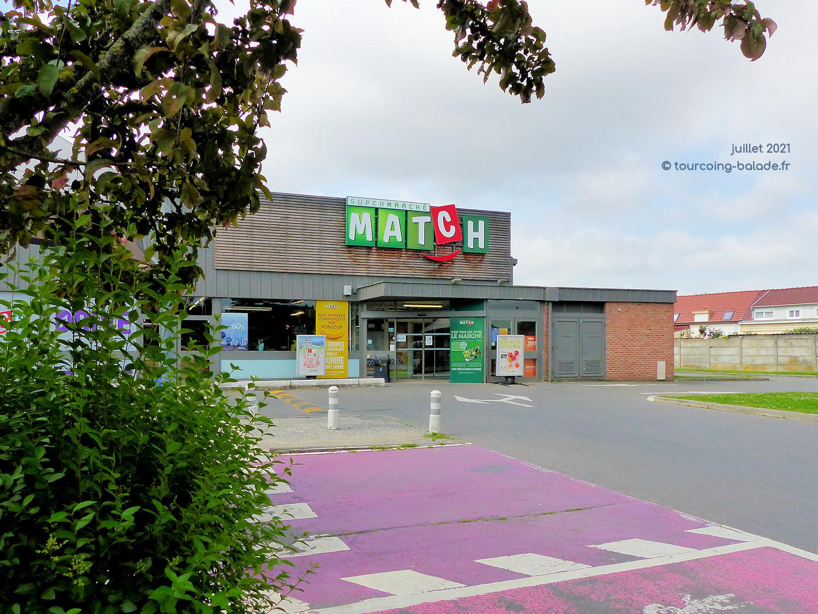 Supermarché Match Fleurus, Tourcoing