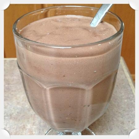Peppermint Pattie Protein Shake