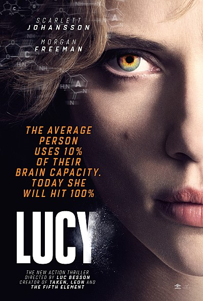 Lucy 2014 BluRay Dual Audio Hindi-English x264 720p