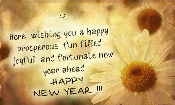 Happy New Year English Quotes