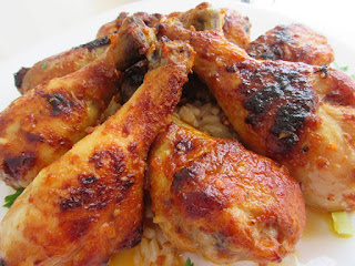 Sticky - crunchy - juicy chicken!