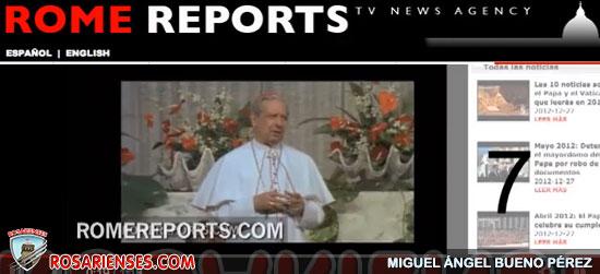 Las 10 historias más vistas durante 2012 en Rome Reports | Rosarienses, Villa del Rosario