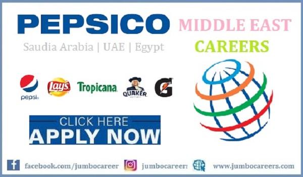 latest pepsi company jobs in saudi