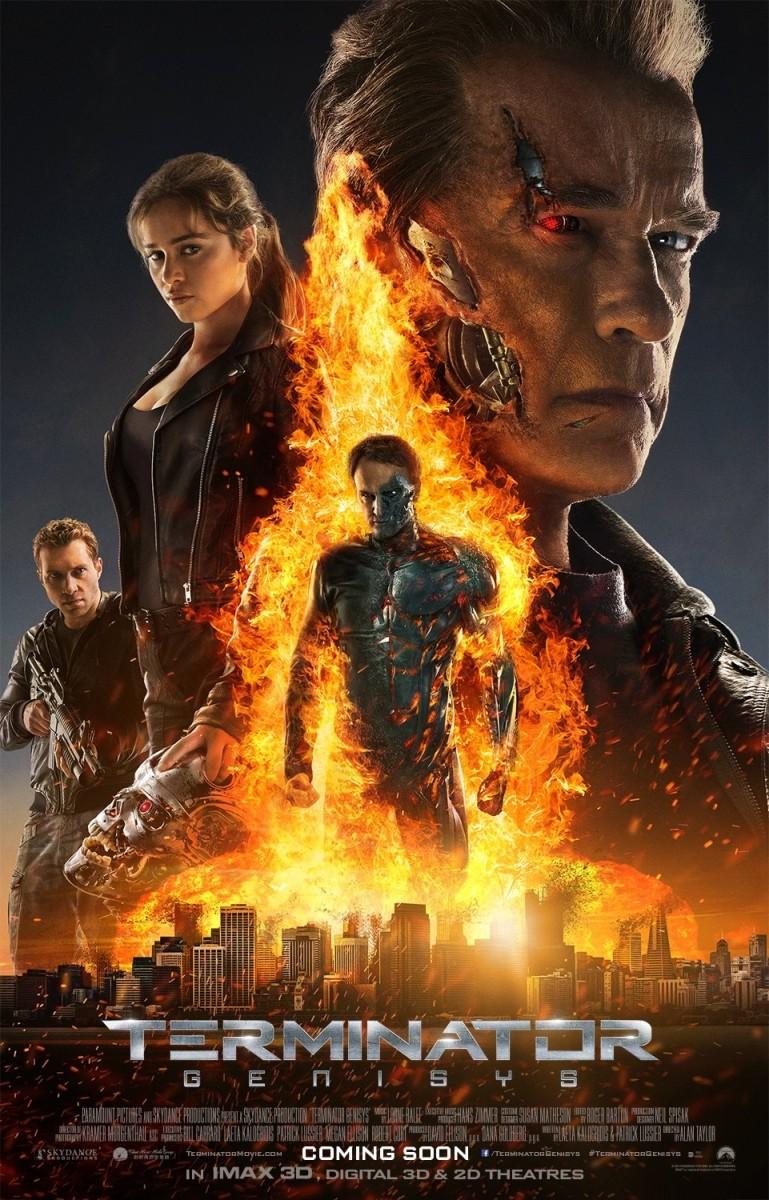 Novo cartaz de O Exterminador do Futuro: Gênesis revela mais do que deveria