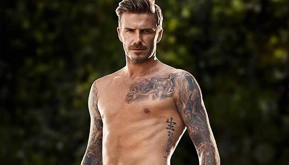Los tattoo de David Beckham cobran vida. Mira el video