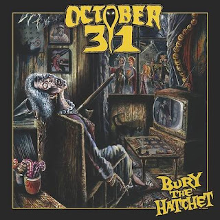 "Το τραγούδι των October 31 ""Voodoo island"" από το album ""Bury the Hatchet"""