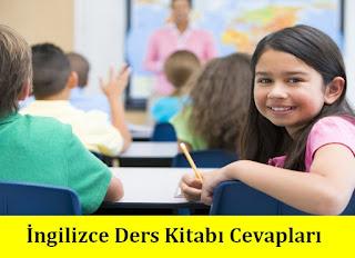 4.Sınıf İngilizce Ders Kitabı Cevapları