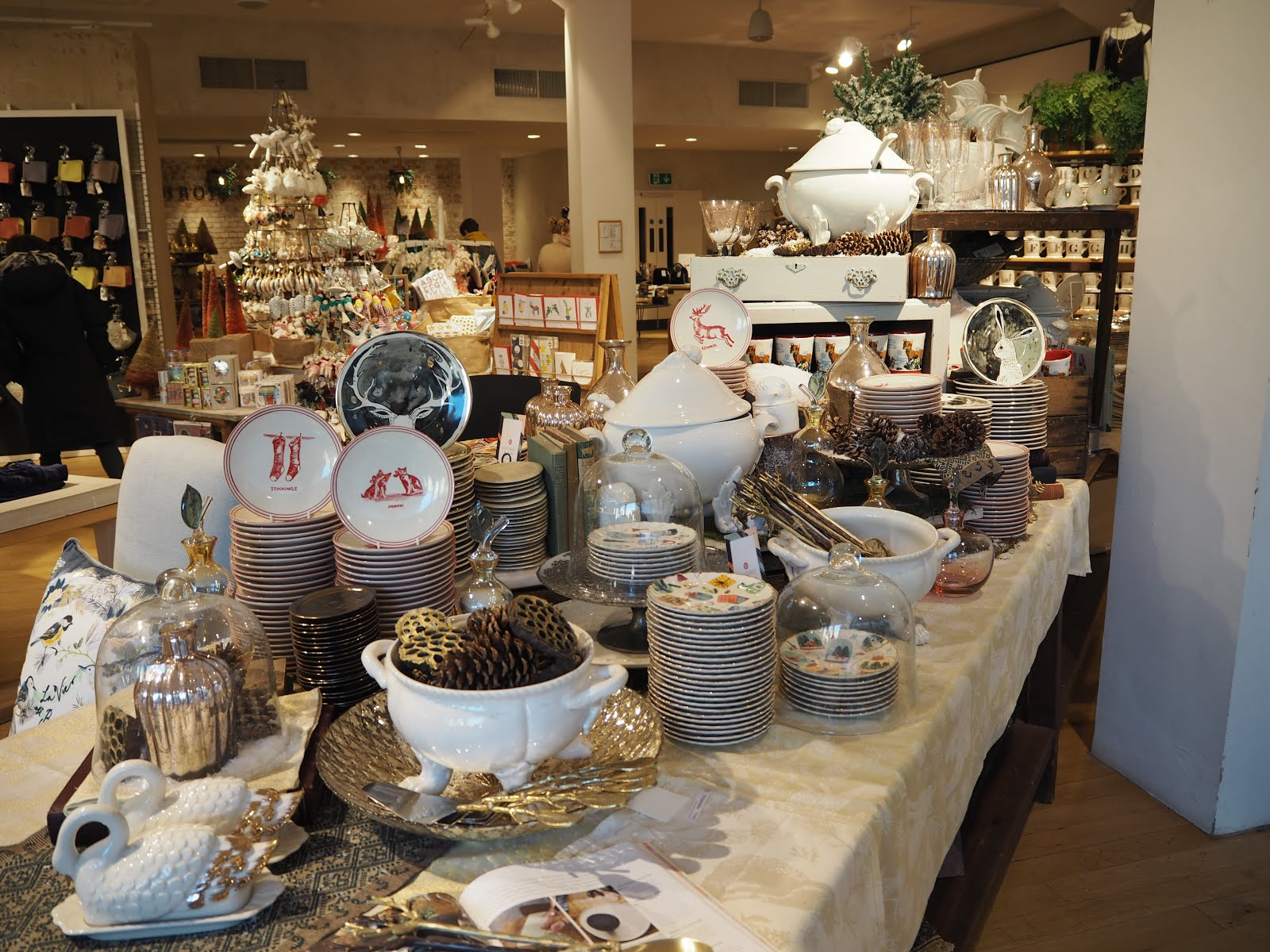 This Christmas display is from Bath Anthropologie in the UK.