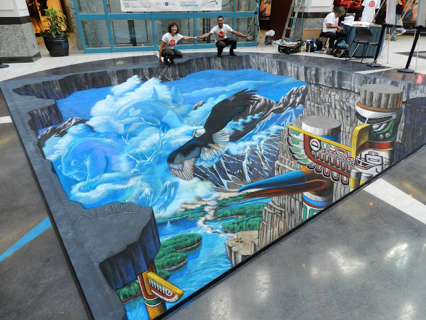 Amazing 3d Chalk Street Paintings Of Tracy Lee Stum Kuriositas