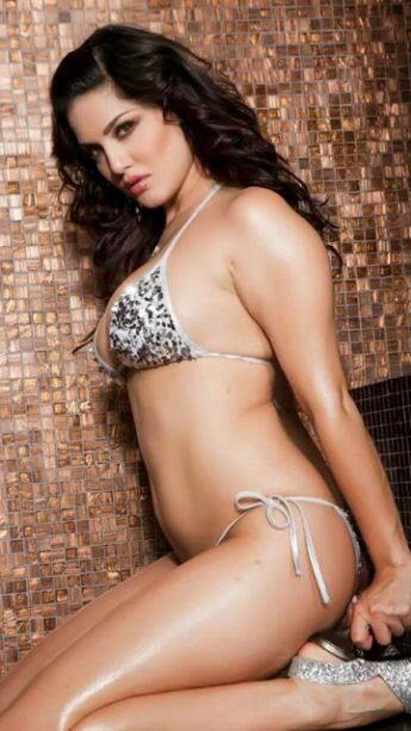 Bollywood Heroine Sunny Leone Bikini Punty Less Open Big -1798