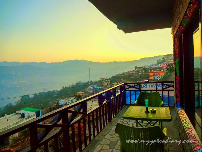 Sunrise at The Himalayan Bungalow - A boutique homestay Almora