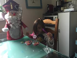 Réalisation de la boule de Noël élastiques Rainbow loom DIY