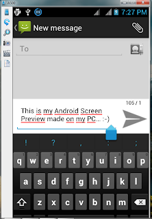 Android Screen on PC