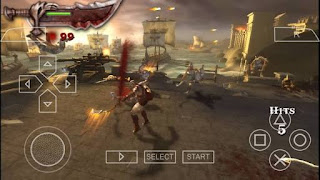God of War Chains of Olympus (USA) ISO PPSSPP for Android High Compress