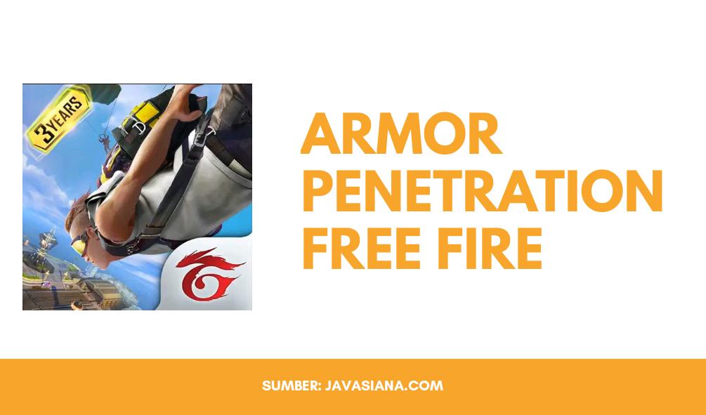 Armor Penetration Free Fire