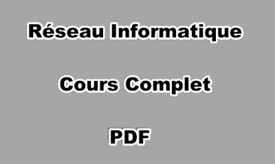Réseau Informatique Cours Complet PDF