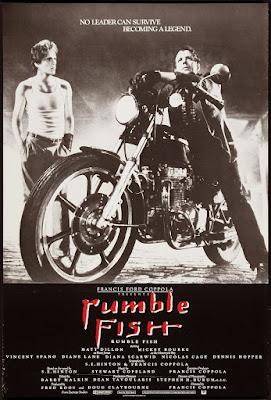 Póster película La ley de la calle - Rumble Fish