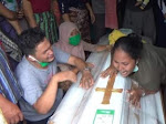 Tangis Pilu Sambut Jenazah Pratu Martinus Sinurat di Padang Sidempuan