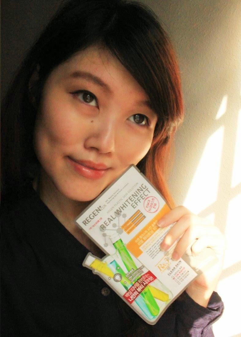 Regen Plastic Skin Solution Real Whitening Effect