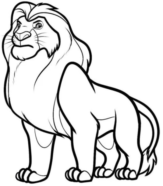 Mewarnai gambar singa  di rumah menjadi kegiatan yang sangat mengasikan dengan keluarga. Kegiatan ini dapat melatih anak untuk meningkatkan daya kreatifitasnya. Selain itu psikomotor si anak dapat berkembang dengan baik.