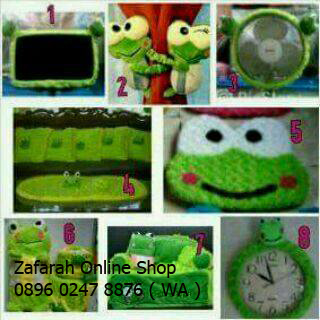 Zafarah Home Set Keroppi
