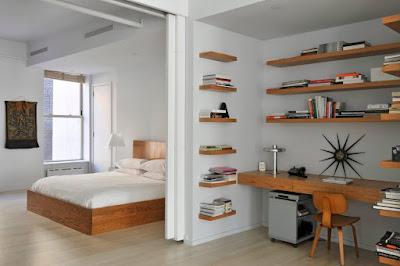Decorative corner wall shelves design ideas for modern home interior