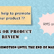 Blog or Product Review RM5 only (harga promosi)