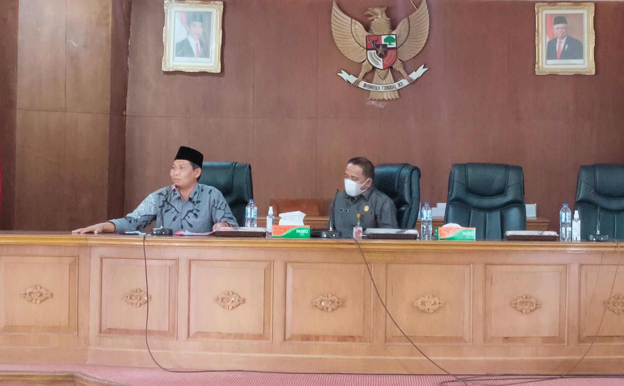 Ketua DPRD Tanjabtim Jadi Narasumber di Rakor Forkompinda tentang Isu Sara