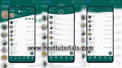 Kumpulan Tema dYOWA WhatsApp Tampilan Simpel & Keren 2021,install aplikasi dyowa v58 terbaru 2021,download wa mod anti banned,yowhatsapp anti blokir