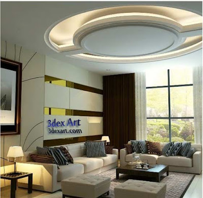 false ceiling designs for living room and hall 2018, ceiling designs 2018, ceiling lighting ideas, gypsum ceiling
