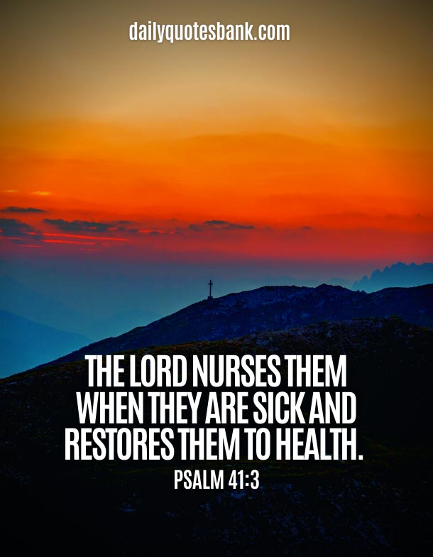 Bible Quotes About God Healing Power