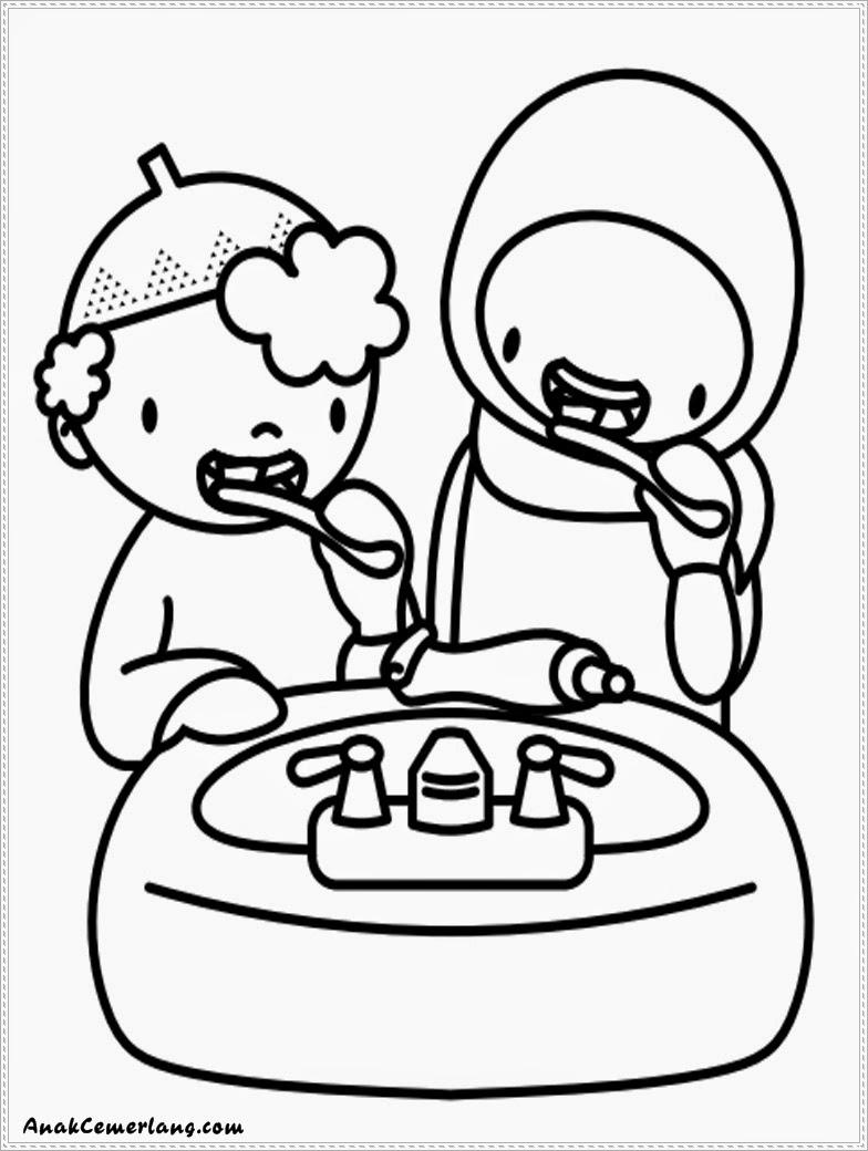 Sikat Gigi Animasi : sikat, animasi, Kumpulan, Gambar, Kartun, Sedang, Gosok, Galeri