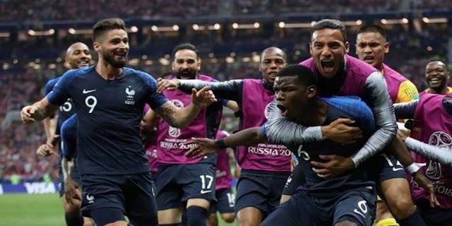 Perancis Menjadi Juara Piala Dunia 2018
