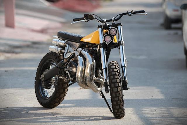 Modified Yahama RX 100