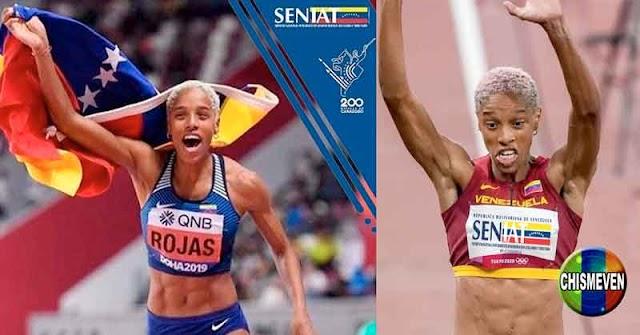 SENIAT emplea la foto de Yulimar Rojas para cobrar impuestos