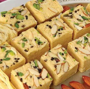 सोन पापड़ी रेसिपी - Soan Papdi Recipe - How to Make Soan Papdi Easily at Home