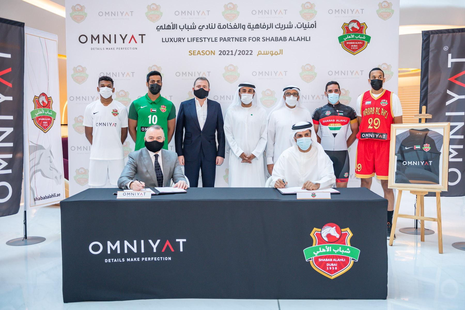 Omniyat sponsors Shabab Al Ahli Club