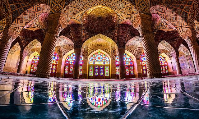 Nasser Al-Malik Mosque Iran Travel Tourism