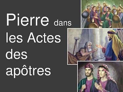 Grand diaporama : Pierre dans les Actes des apôtres