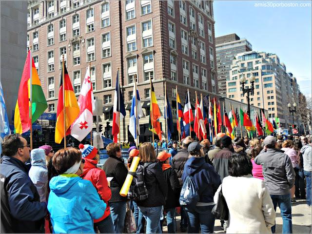 Línea de Meta de la Maratón de Boston 2013