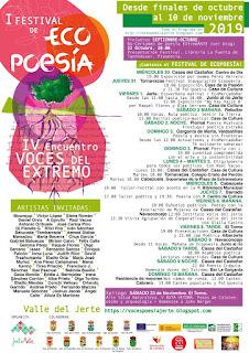 FESTIVAL DE ECOPOESÍA (diferentes localidades)