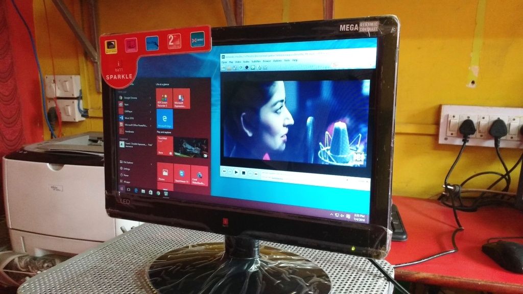 Learn New Things Iball 15 6 Inch Led Hd Monitor 1606v
