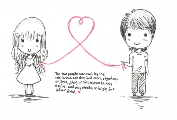 Red String Of Fate Quotes. QuotesGram