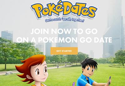 PokeDates Pokemon go para encontrar el Amor