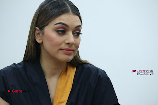 Actress Hansika Motwani Latest Pos at Bogan Movie Press Meet  0077.jpg