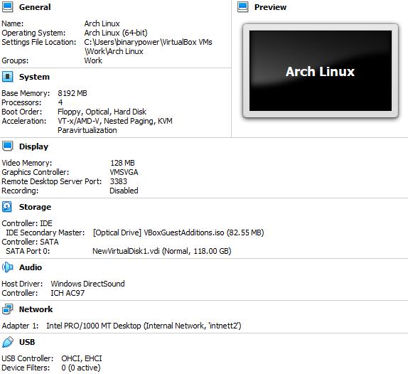 binarypower: Install BlackArch from scratch on fresh Arch