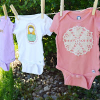 Embellished Onsies by Over The Apple Tree