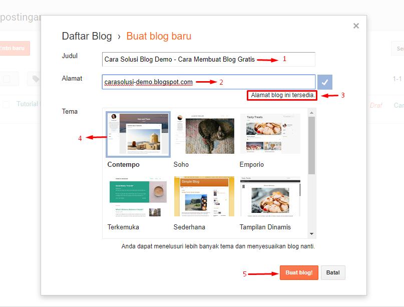Tutorial Membuat Blog atau Website